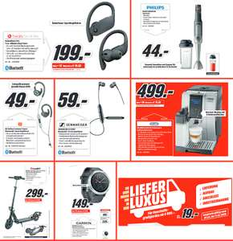 [MM&amazon] Beats Powerbeats Pro In-Ear Kopfhörer =199€ | iconBIT IK-1972K eScooter =299€ | Lieferluxus Haushaltsgroßgeräte für 19€ | u.a.