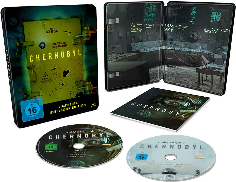 Chernobyl - Die komplette Serie (Blu-ray) mit Limited Steelbook für 19,99€ (Mein 21K Deal)