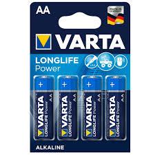 Varta Longlife Power (blau) 4 x AA oder 4 x AAA Batterien für 1,11 Euro [Marktkauf/Minden-Hannover]
