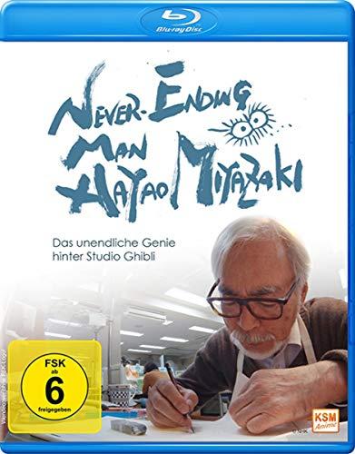 Never Ending Man: Hayao Miyazaki - Das unendliche Genie hinter Studio Ghibli (Blu-ray) für 8,96€ (Amazon IT)