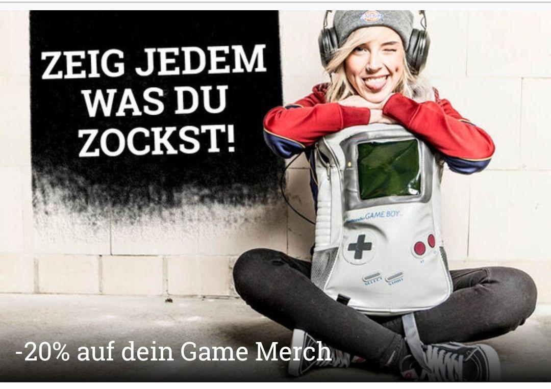 EMP 20% auf Game Merchandise