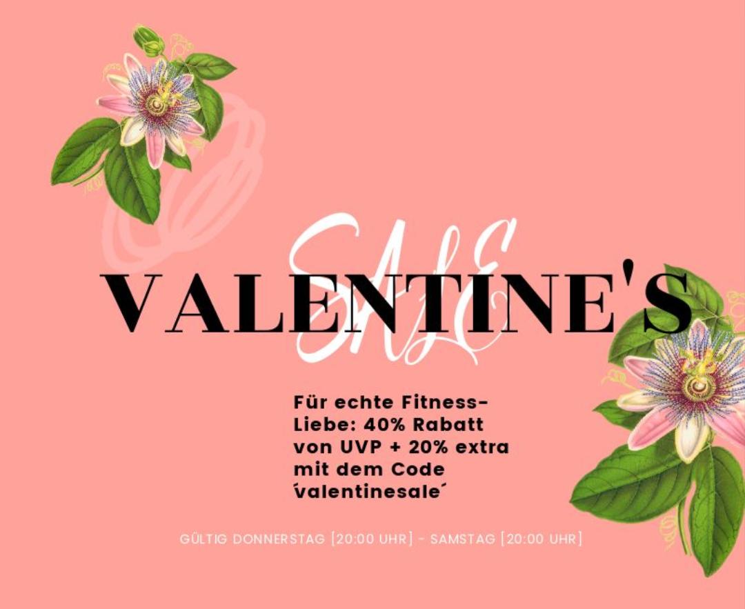Climaqx Valentins Rabatt bis zu 60% nur ab Do. 20 Uhr bis Sa. 20 Uhr