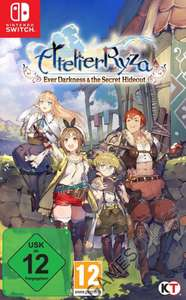 Atelier Ryza: Ever Darkness & the Secret Hideout(Nintendo Switch) [GamesOnly]