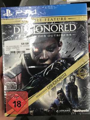 [Lokal MediaMarkt/MM Bonn] PS4 Dishonored Double Feature Pack 5€