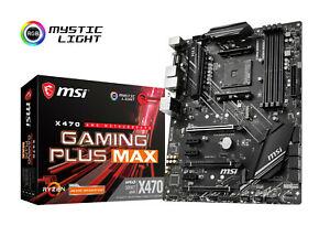 MSI X470 Gaming Plus Max (AM4, AMD X470, ATX)