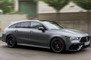 [Gewerbeleasing] Mercedes CLA 45 S AMG Shooting Brake DCT (421 PS), ab 389€ Netto/462 Brutto im Monat, LP 66.300€, LF 0,69