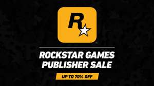 Rockstar Games im Steam Publisher Sale - GTA V -50 %, RDR2 -20 % u.v.m.