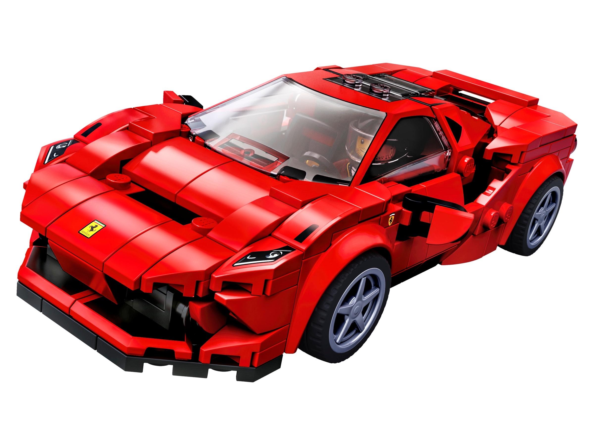 Lego Speed Champions Ferrari F8 Tributo und Nissan GT-R Nismo