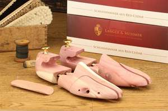 Langer & Messmer Zedernholz Schuhspanner zum Bestpreis