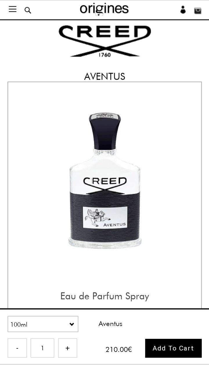 Creed Aventus Eau de Parfum günstiger kaufen