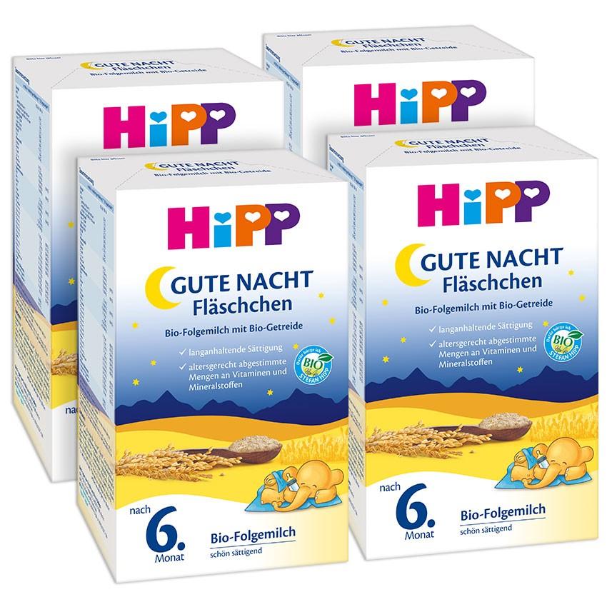 6M+ HiPP Gute-Nacht-Fläschchen Pulver Bio 4x500g (geht noch)