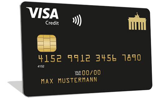 30,- € Guthaben: Deutschland Kreditkarte Gold (dickes Versicherungspaket!)