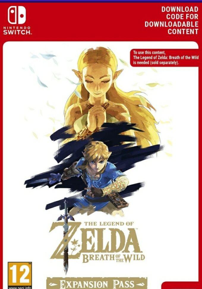The Legend of Zelda - Breath of the Wild Season Pass (Switch)