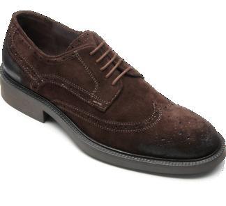 Oxmox dunkebraune Business-Schuh für 30 Euro