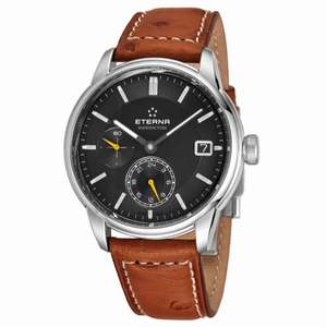 Eterna Adventic GMT Manufacture Automatic Anthracite (Nischendeal)