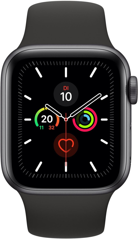 Apple Watch 5 GPS 40mm Aluminium Space Grey für 398,56€ durch 6% Shoop plus 5€ Shoop Gutschein