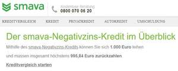 SMAVA geschenkt 4,16€