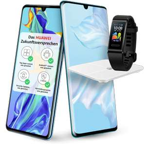[O2 DSL Kombivorteil] Huawei P30 Pro (+Band 4 Pro+Waage) o. iPhone XS im O2 Free M Boost (40GB LTE, Connect) mtl. 29,99€ | iPhone 11 149€