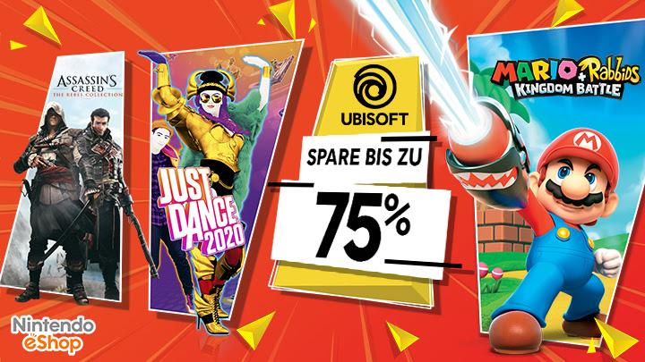 [Nintendo Switch] Ubisoft Publisher Sale im Nintendo eShop