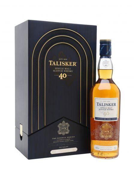 [Nischendeal] Talisker 40 Jahre Single Malt Whisky Bodega Series (1978) - Limited Edition + 4% Shoop