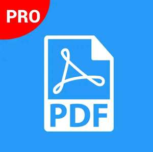 PDF Creator & Editor Pro - inkl. QR- & Barcode-Scanner (3,8* >50.000 Downloads) [Android-Freebie]