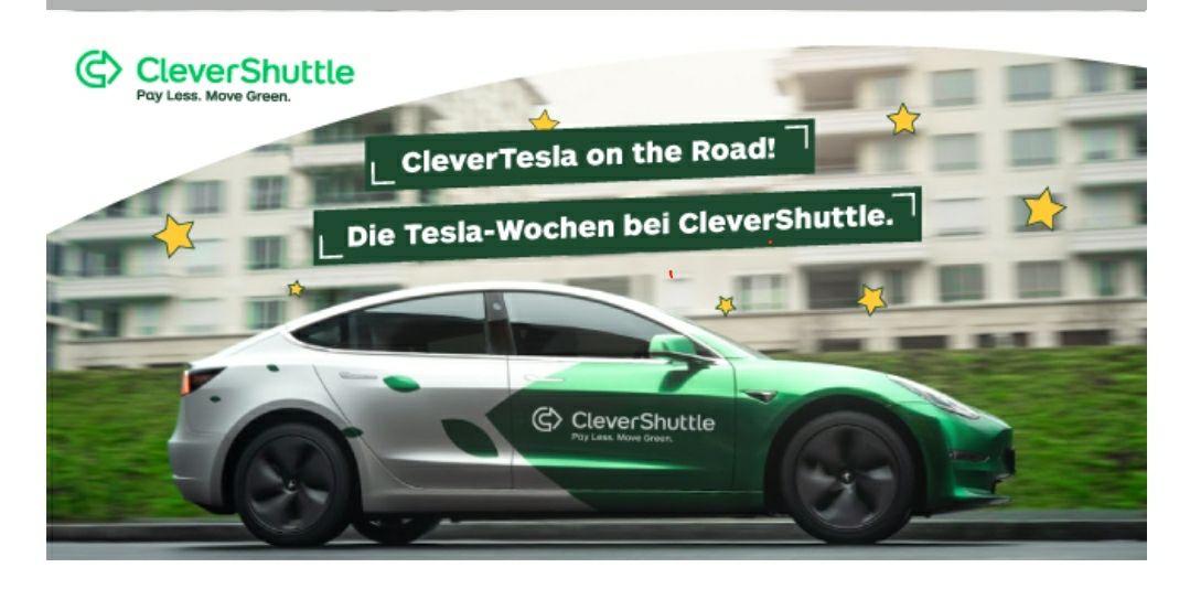 [Berlin] 5€ Rabatt für die nächste Clevershuttle-Fahrt