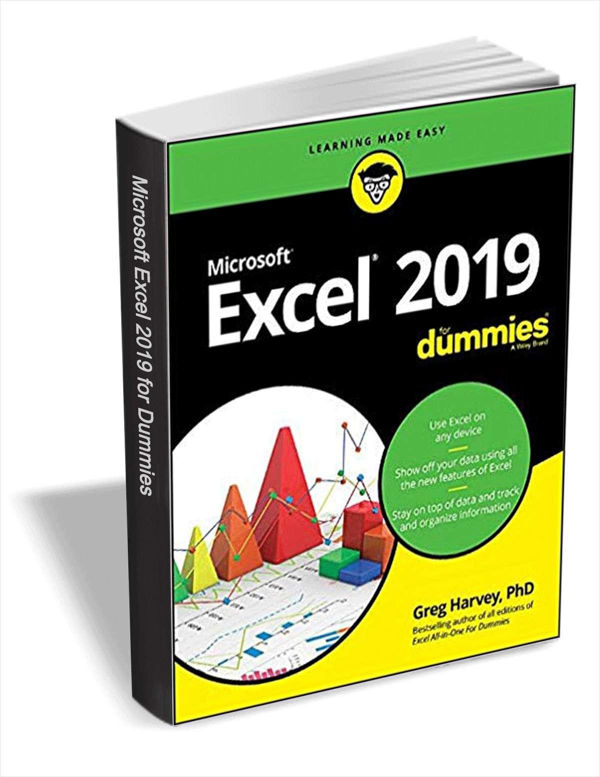 Excel 2019 for Dummies (eBook) kostenlos