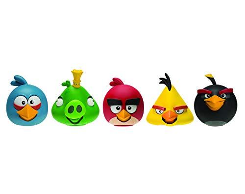 """Angry Birds - Spielfiguren (werden auf Knopfdruck """"angry"""") - 5er Pack [Amazon Prime]"""