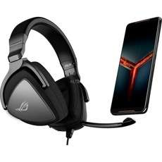 Gaming Smartphone ASUS ROG Phone II 128GB + Headset Asus Delta Core Bundle