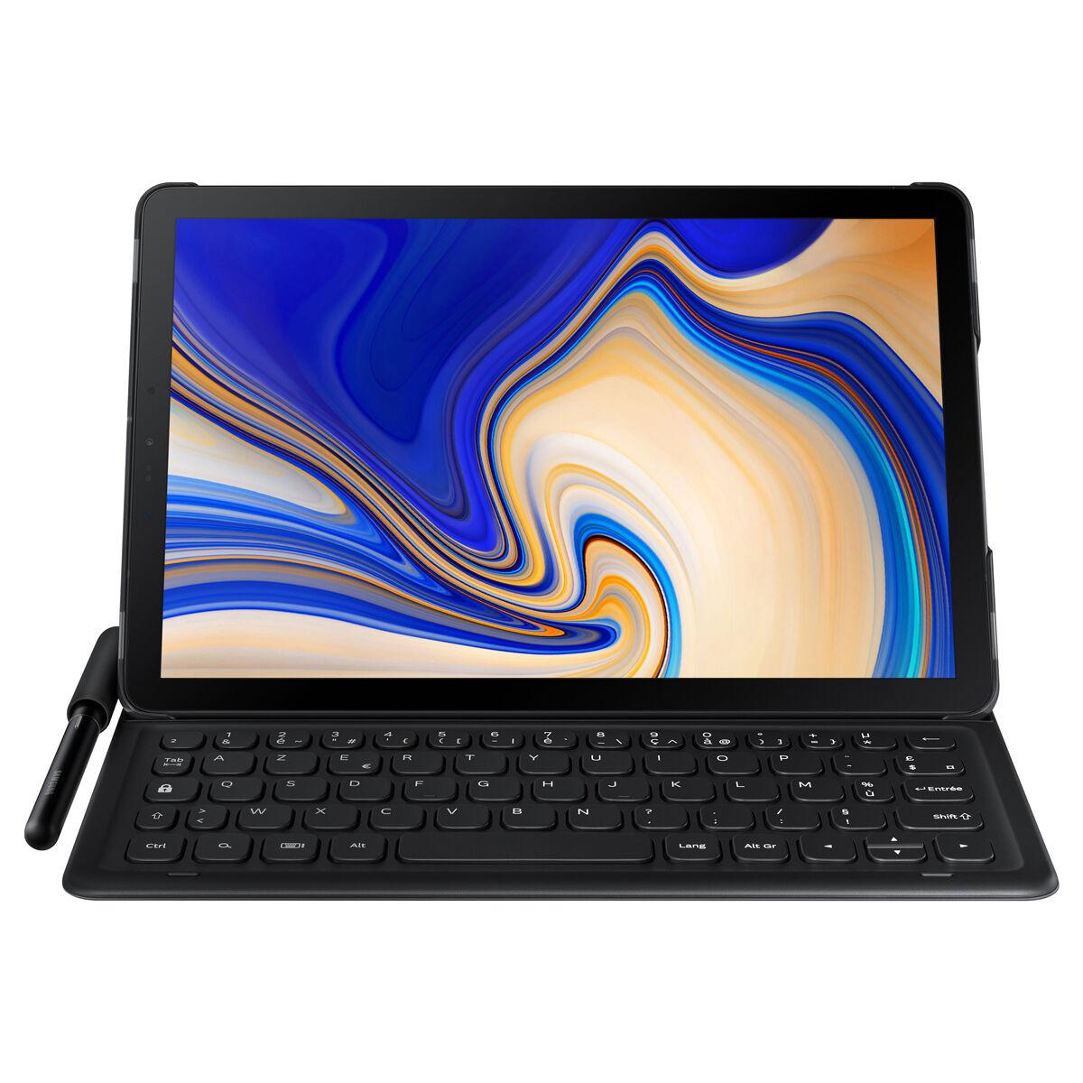 """[NBB-Newsletter] Samsung Galaxy Tab S4 T830 WiFi + Tastatur (10.5"""", AMOLED, 2560x1600, SD835, 4GB RAM, 64GB + microSD, USB-C, Android 9.0)"""