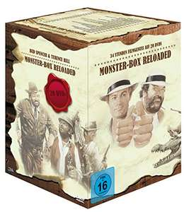 Bud Spencer & Terence Hill Monsterbox ( Amazon Prime ) oder die 20x Haudegen-Action in einer Box für 69,99€