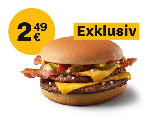 McDonald's Ostercountdown - heute EXKLUSIV McBacon für 2,49 €