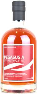 Scotch Universe Pegasus A - 97° P.7.1' 1972.5'' TS (8-jähriger Teaspooned Ledaig, 1st Fill Port) Blended Malt Whisky