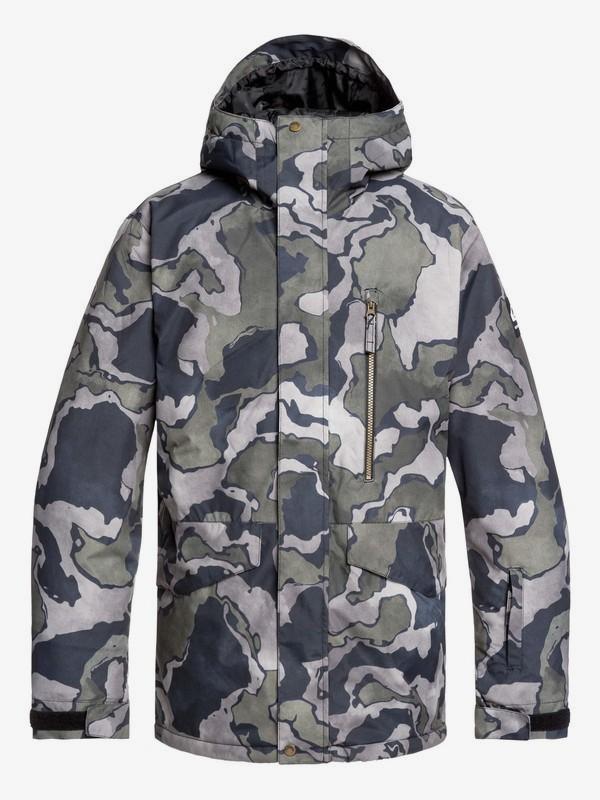 Secret-Sale bei Quiksilver, Roxy & DC Shoes mit bis zu 60% Rabatt auf Winter(-sport) Kleidung, z.B. Quksilver 'Mission' Jacke