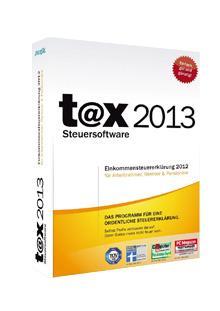 [Download] t@x 2013 für 10,83 € statt 14,99 €