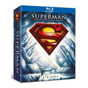 The Complete Superman Collection [ UK Blu-ray] (8 Discs) für 24,28 € @ Amazon.uk