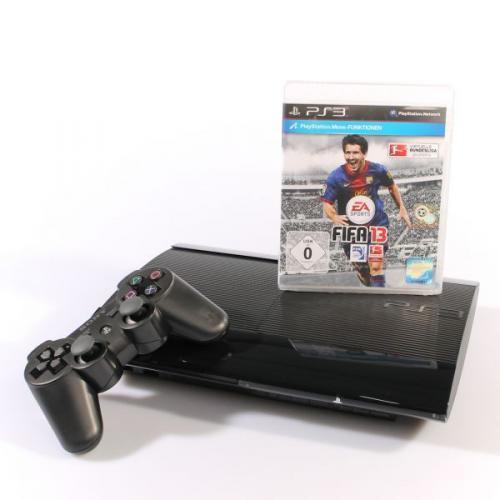 Sony Playstation 3 Ultra Slim - 12GB - Fifa 13 - Bundle @getgoods.de 217€