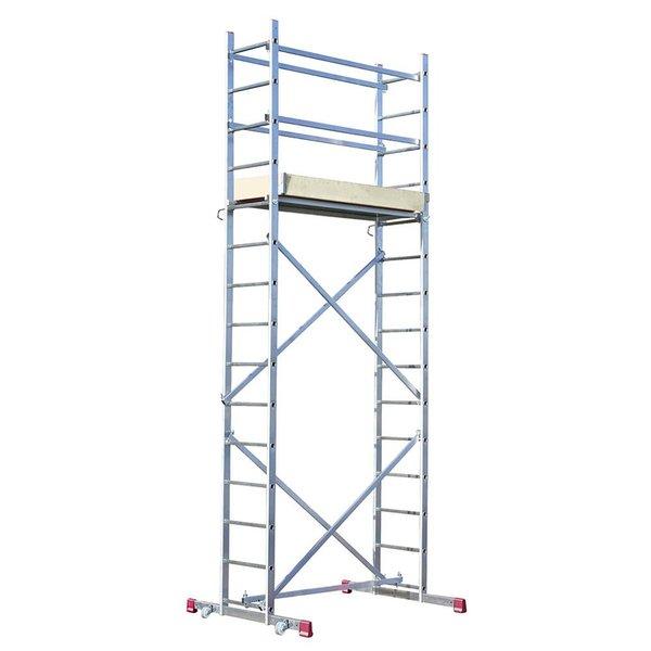 KRAUSE Corda Alu-Montagegerüst mit 5 m Arbeitshöhe für 299 Euro beim Globus Baumarkt, mit der Bauhaus Tiefpreisgarantie für 263,12 Euro