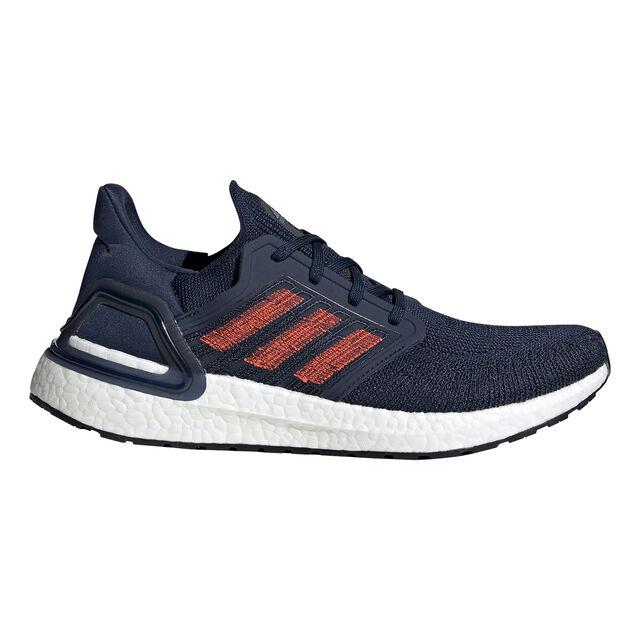 Adidas Ultraboost 20 Dunkelblau, Rot / Weiß