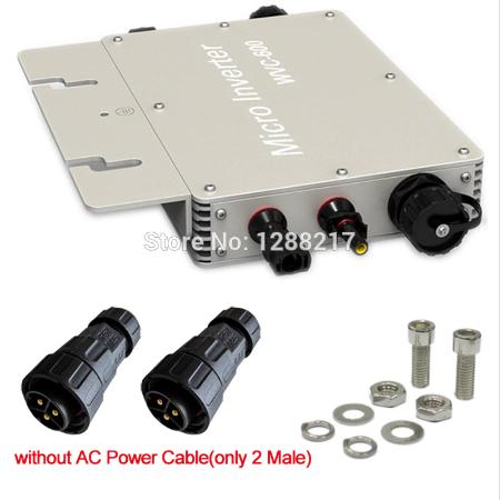 WVC 600 Micro- Wechselrichter = Strom selber machen