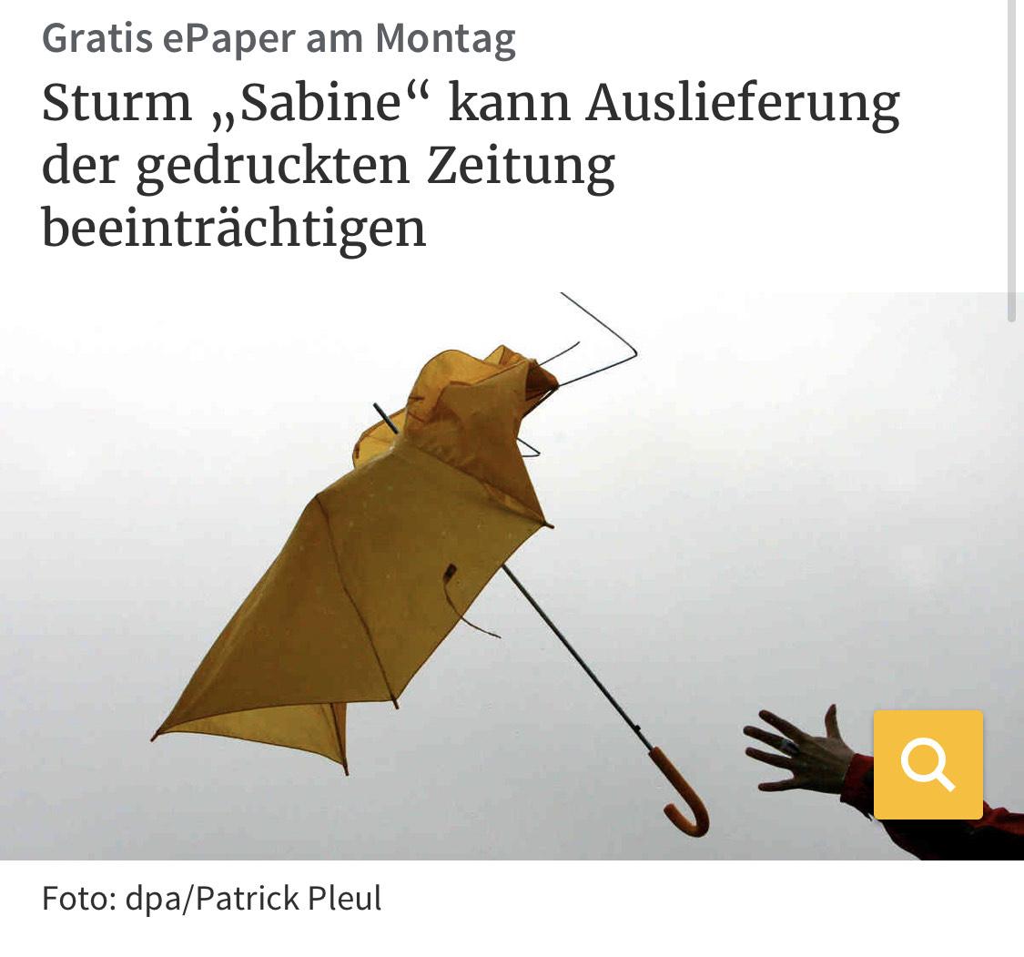 [Lokal] Rheinische Post - Montagsausgabe kostenlos als ePaper