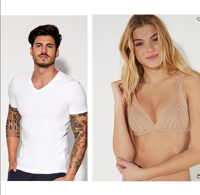 TEZENIS underwear (M/W/D): bis zu 70% Rabatt, kaufe 2 BHs bekomme einen gratis, (Gratis Versand)