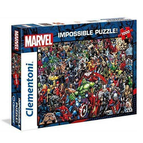 Clementoni Marvel Universe-Impossible Puzzle - 1000 Teile