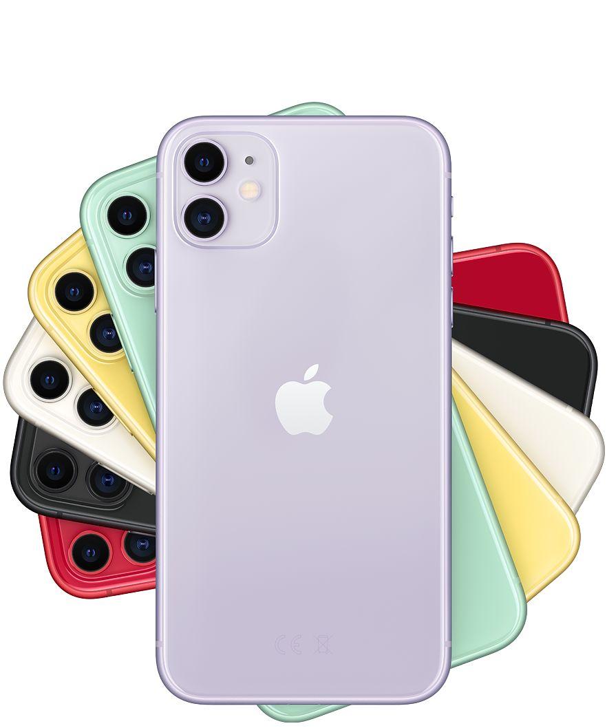 iPhone 11 128GB mit Unlimited LTE (Allnet Flat, 225 Mbit LTE, EU Roaming, o2-Netz)
