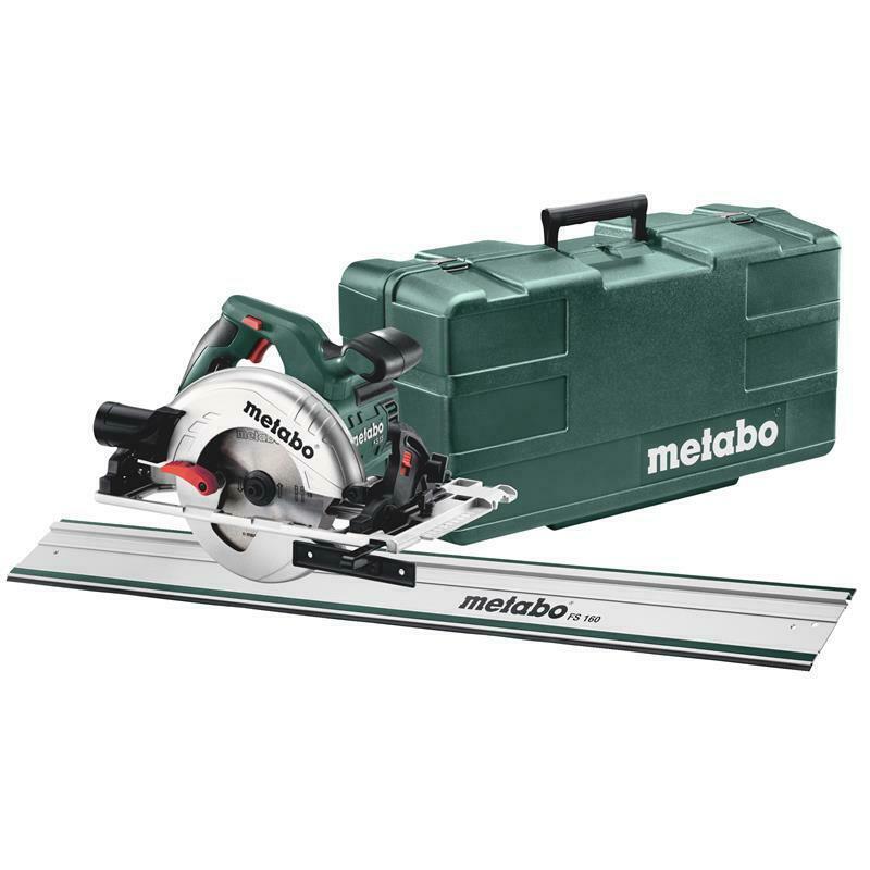 Metabo Handkreissäge Set KS 55 FS + Führungsschiene FS 160 Kunststoffkoffer