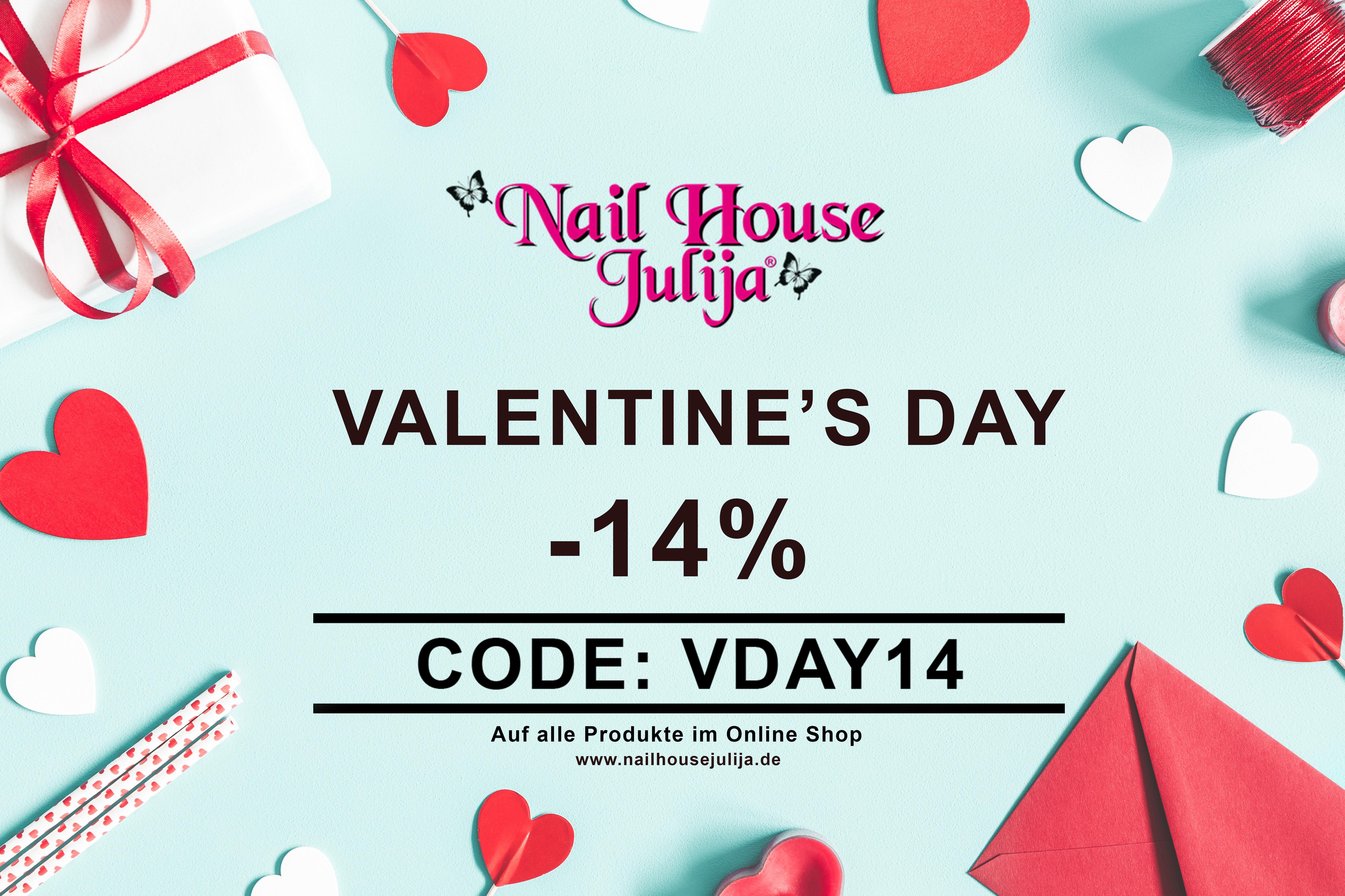 Nail House Julija 14% auf das ganze Sortiment Sparen