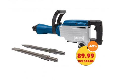 Scheppach Abbruchhammer PH1700 für 89,99€ oder Scheppach Kappsäge HM80L mit Untergestell für 59,99€ plus 4,95€ Versand ab 13.02