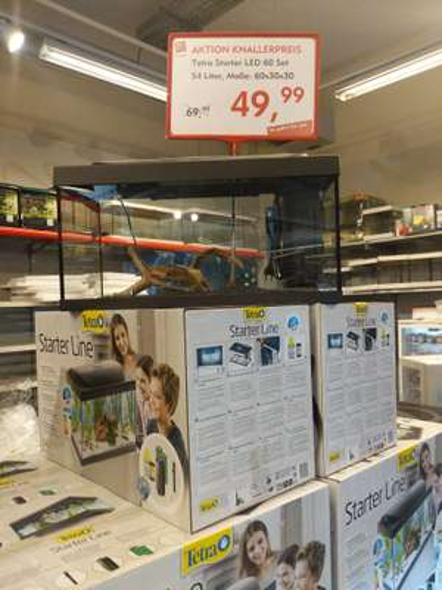 Tetra Starter Line LED 54L Aquarium Lokal Bonn