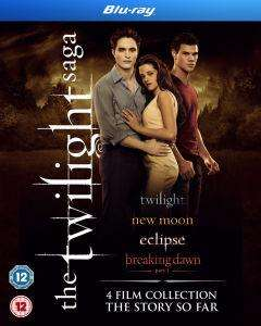[Zavvi] Twilight Saga Quadrilogy