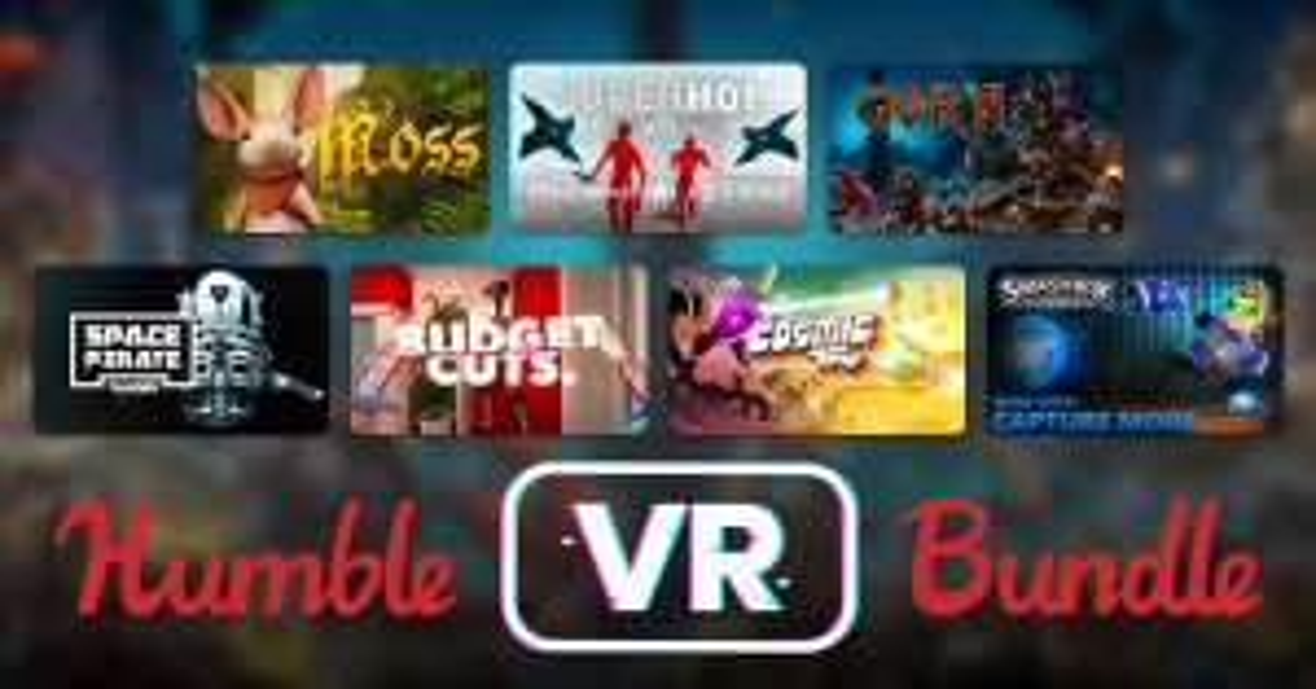 HUMBLE VR BUNDLE (Steam - Oculus Rift / HTC Vive) ab 1€ mit Cosmic Trip & Smashbox Arena